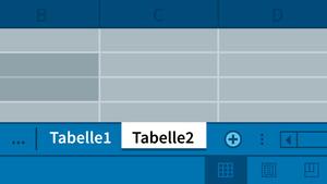 Excel 2016: Mehrere Arbeitsmappen und Arbeitsblätter