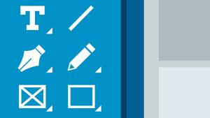 InDesign CC 2017 lernen: Werkzeugpalette