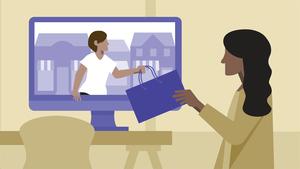 Sales: 476536564 to Consumer Online Sales