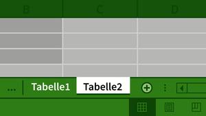 Excel 2010: Mehrere Arbeitsmappen und Arbeitsblätter