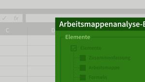 Excel: Diagnose und Forensik mit (und ohne) Inquire
