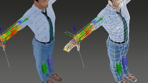 3ds Max: Digital Humans for Architectural Visualizations