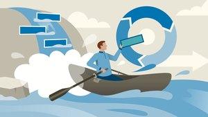 Transición de gestión de proyectos en cascada a gestión de proyectos Agile