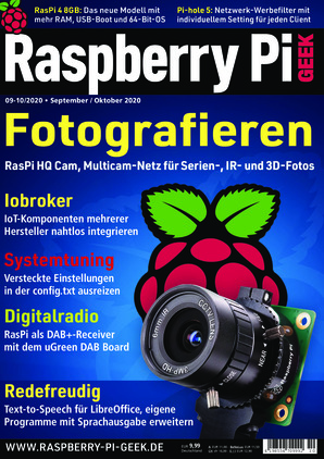 Raspberry Pi Geek (09-10/2020)