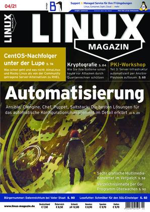 Linux-Magazin (4/2021)