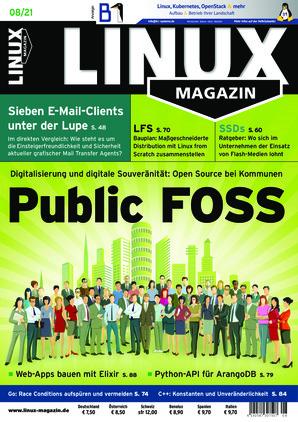Linux-Magazin (08/2021)