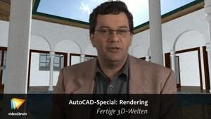 AutoCAD-Special: Rendering