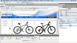 Neu in Adobe Dreamweaver CS5.5
