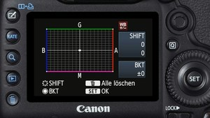 Canon EOS 5D Mark III - Das dynamische Display