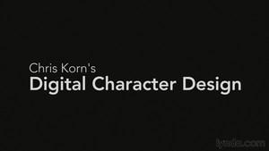 Chris Korns Digitales Character Design