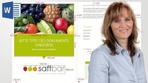 Word 2013/2010: Firmenvorlagen im Corporate Design