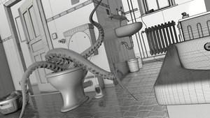 Uli Staigers Oktopus: Modeling mit Cinema 4D