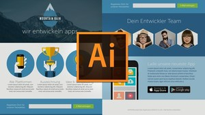 Webdesign mit Illustrator CC: Mockup