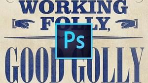 Photoshop für Designer: Schrifteffekte