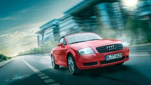 Composing-Workshop: Auto in Bewegung