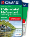 Vergrößerte Darstellung Cover: Kompass Wanderführer Pfaffenwinkel, Fünfseenland, Starnberger See, Ammersee. Externe Website (neues Fenster)