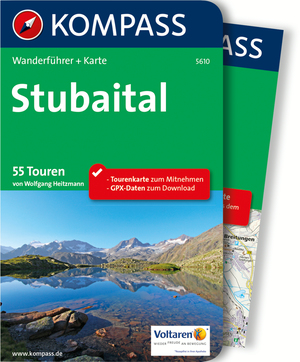 Kompass Wanderführer Stubaital