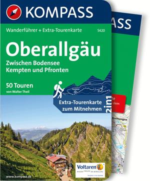 Kompass Wanderführer Oberallgäu