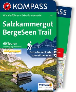 Kompass Wanderführer Salzkammergut BergeSeen Trail