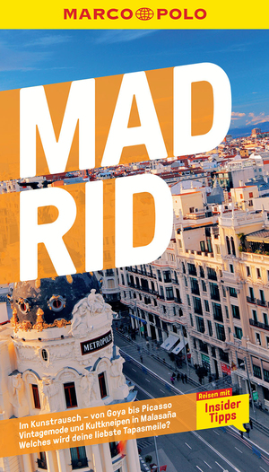 MARCO POLO Reiseführer Madrid