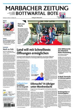 Marbacher Zeitung (26.02.2021)