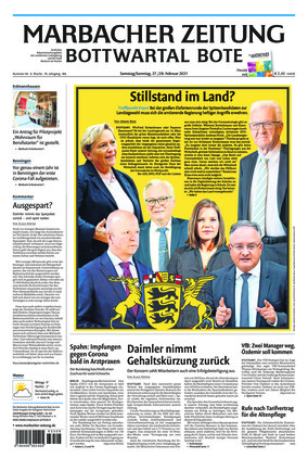 Marbacher Zeitung (27.02.2021)