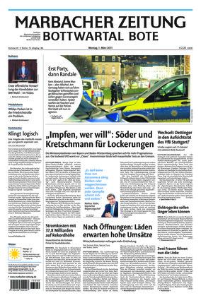 Marbacher Zeitung (01.03.2021)