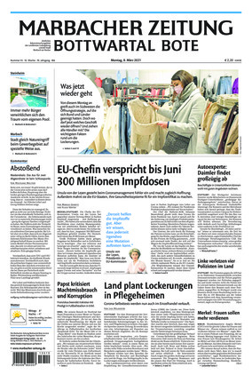 Marbacher Zeitung (08.03.2021)