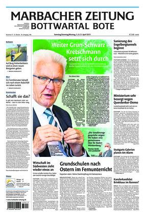 Marbacher Zeitung (03.04.2021)