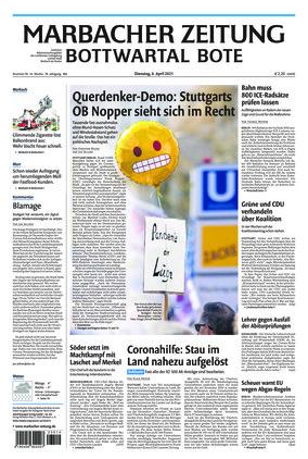 Marbacher Zeitung (06.04.2021)