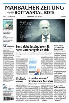 Marbacher Zeitung (10.04.2021)