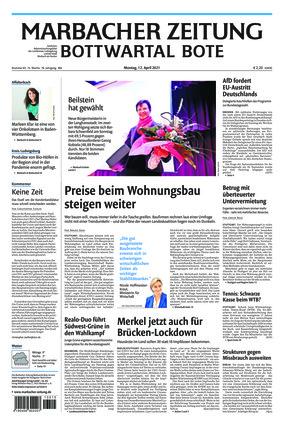 Marbacher Zeitung (12.04.2021)