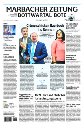 Marbacher Zeitung (20.04.2021)
