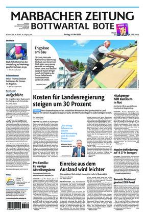 Marbacher Zeitung (14.05.2021)