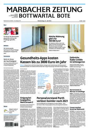 Marbacher Zeitung (22.07.2021)