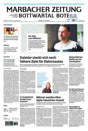 Marbacher Zeitung (23.07.2021)