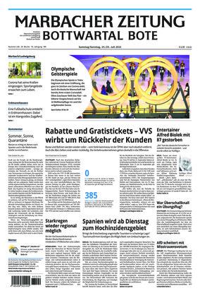 Marbacher Zeitung (24.07.2021)