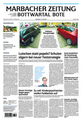 Marbacher Zeitung (27.07.2021)