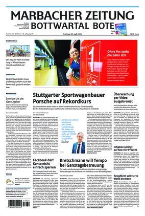 Marbacher Zeitung (30.07.2021)