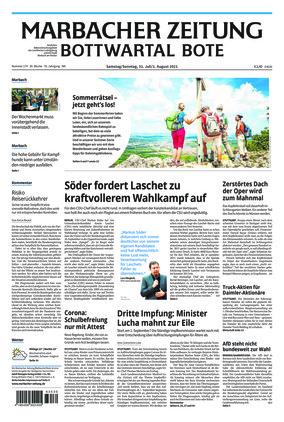 Marbacher Zeitung (31.07.2021)