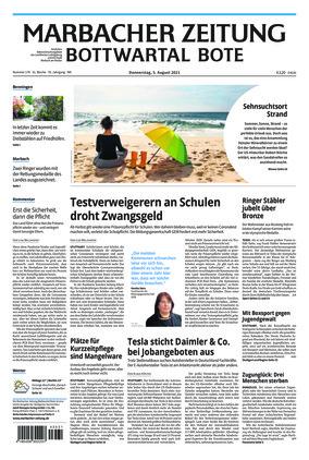 Marbacher Zeitung (05.08.2021)