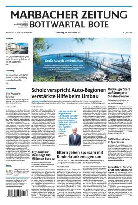 Marbacher Zeitung (14.09.2021)