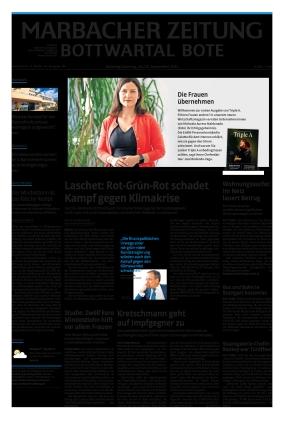 Marbacher Zeitung (18.09.2021)
