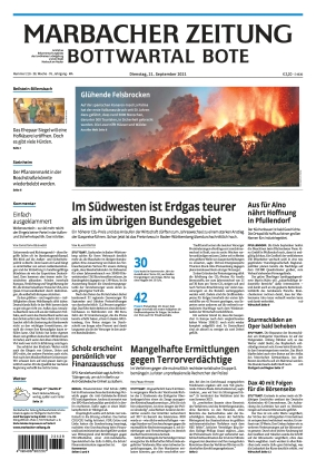Marbacher Zeitung (21.09.2021)