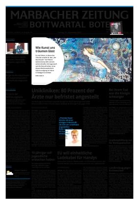 Marbacher Zeitung (24.09.2021)