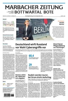 Marbacher Zeitung (25.09.2021)