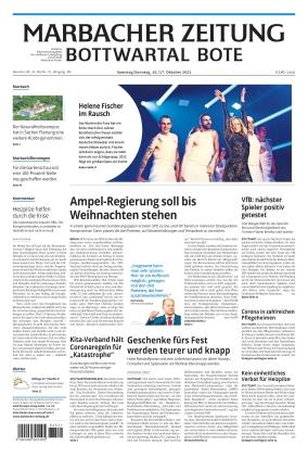 Marbacher Zeitung (16.10.2021)