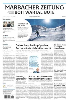 Marbacher Zeitung (25.10.2021)
