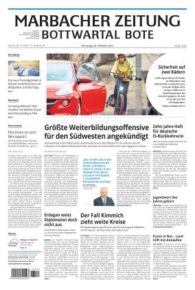 Marbacher Zeitung (26.10.2021)