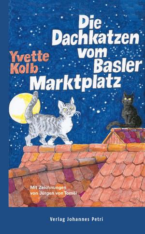 ¬Die¬ Dachkatzen vom Basler Marktplatz
